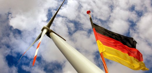 Rostock, the first offshore wind power plant in Germany