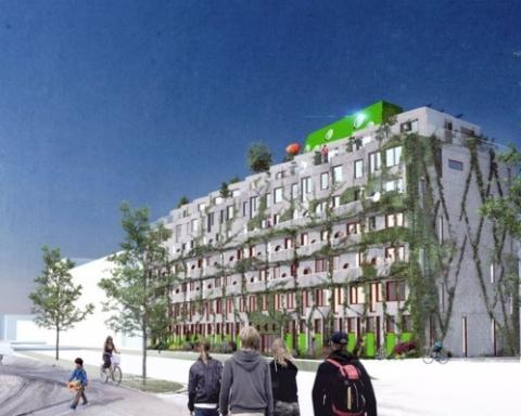Cykelhuset Ohboy (Courtesy: Hauschild+Siegel)