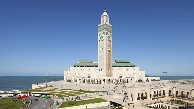 King Hassan II Mosque in Casablanca