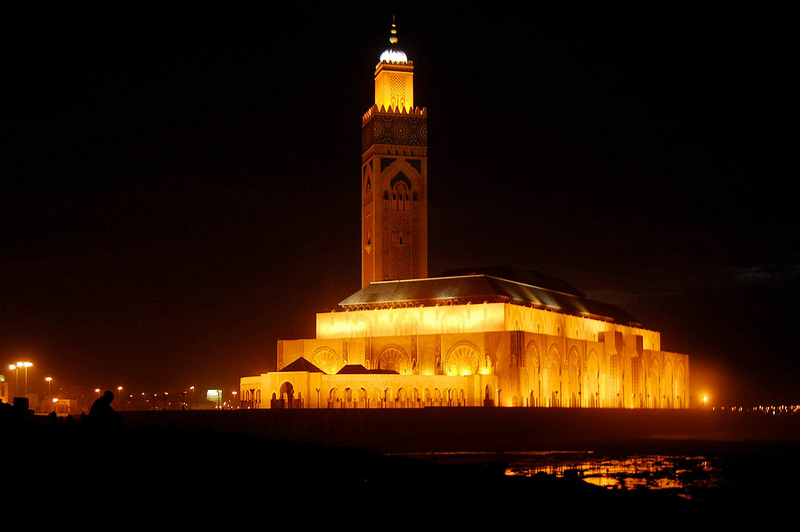 Maroc Mosque soir