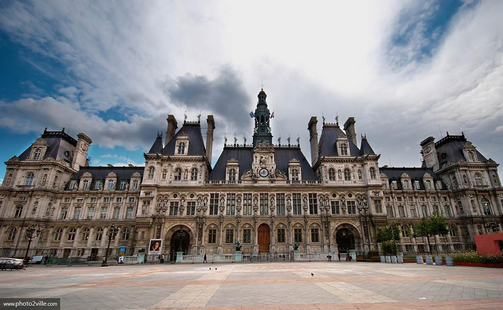 City Hall of Paris. Source: hotel-design-secret-de-paris.com