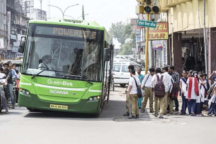Le bus vert de Scania