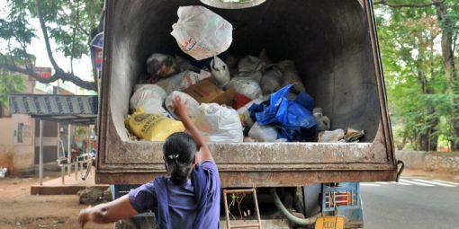 Plastic collection in Trivandrum