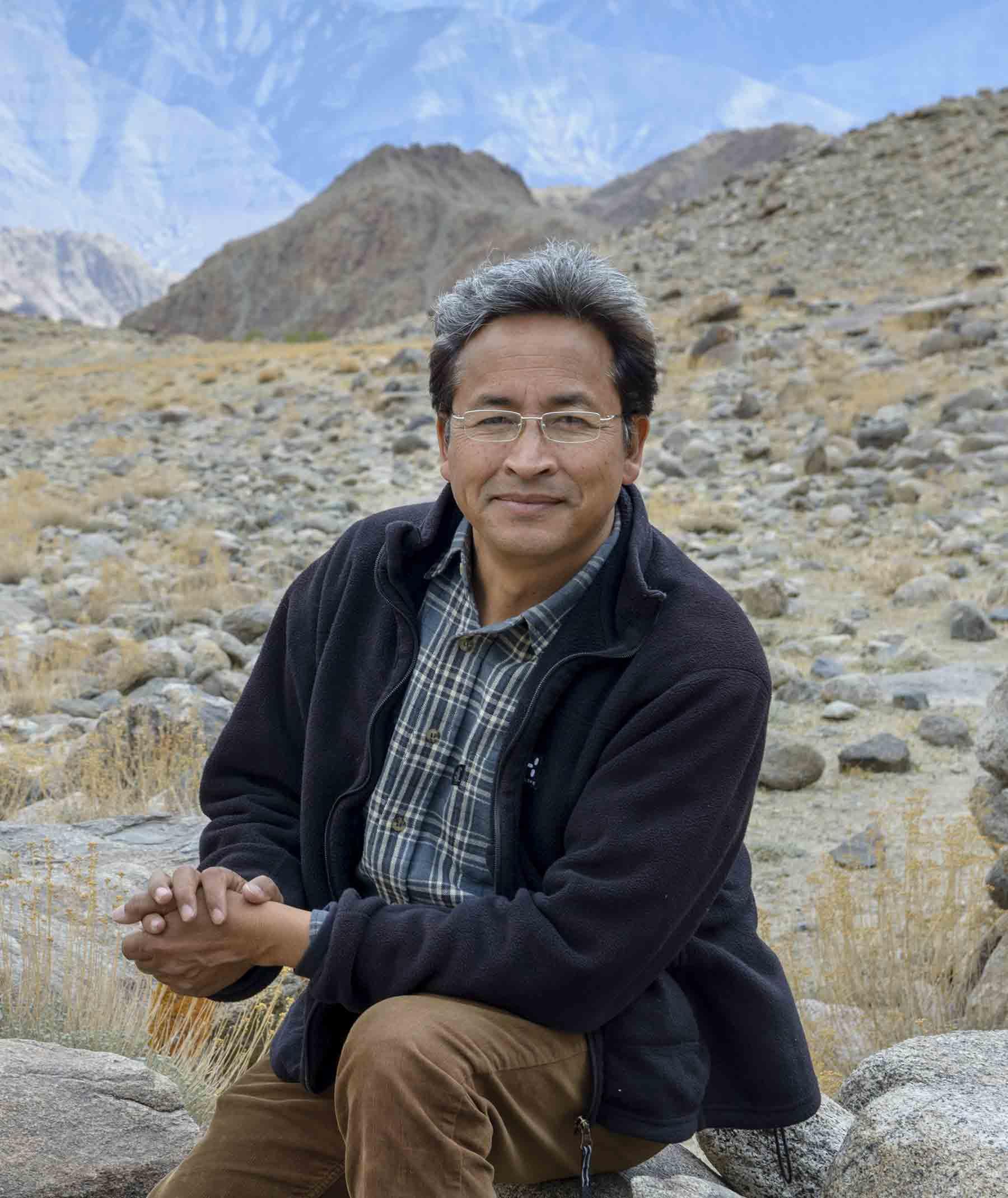 Sonam Wangchuk Rolex Awards